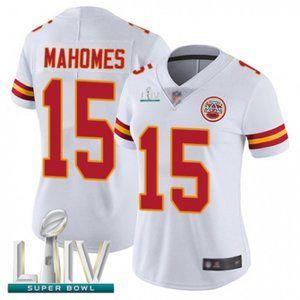 Women Chiefs Patrick Mahomes Super Bowl LIV Jersey